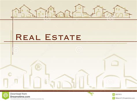 real estate cards template real estate business card stock vector illustration of