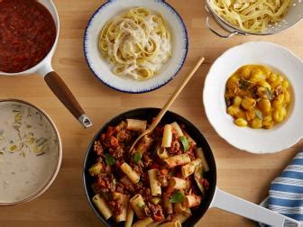 basic pasta sauces to know food network fall weeknight fall weeknight dinners food network food network