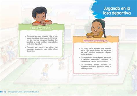 gua para madres y 3er grado gua dirigida a madres y padres de familia para 3er grado gu 237 a dirigida a madres