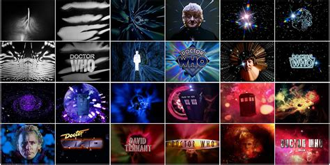 theme generator art doctor who 50 years of main title design art of the title