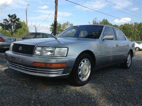 92 lexus ls400 for sale 1994 lexus ls 400 for sale ta fl carsforsale