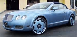 Baby Blue Bentley Convertible Banks Baby Blue Bentley Carz
