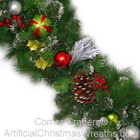 christmas magic garland cornercrafters com winter