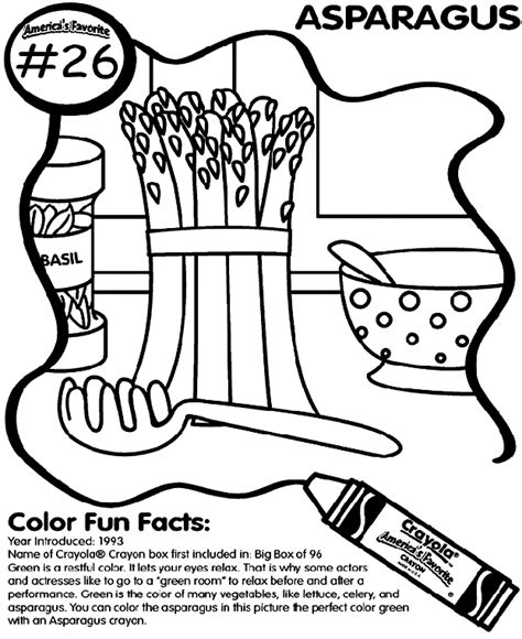 asparagus coloring page no 26 asparagus crayola co uk