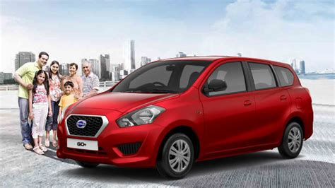nissan launched 7 seater datsun go plus at rs 3 79 lakh