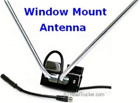 tv window mount window mount tv and fm antenna kit standard series