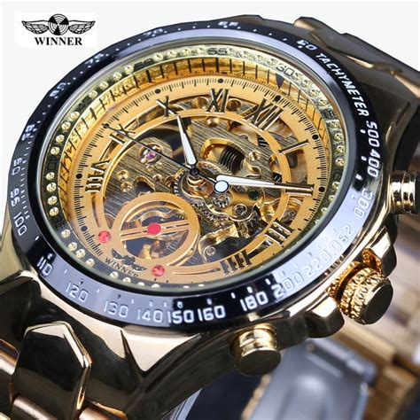 2016 winner luxury brand watches automatic self wind