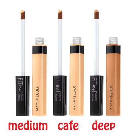 Makeup Maybelline Malaysia maybelline fit me concealer beautyspot malaysia s