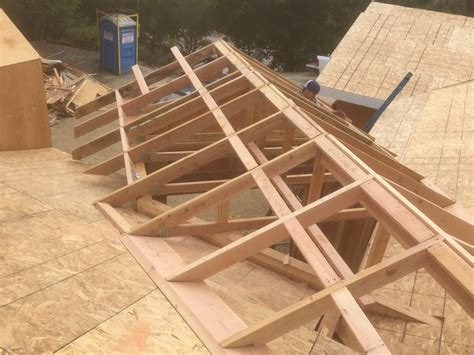 Roof Framing Geometry Off Angle California Valley Framing