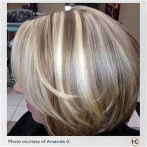 how to color hair to blend in gray my heavy blonde highlights hair pinterest heavy
