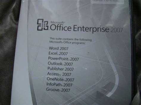 Lisensi Microsoft Office 2007 Version microsoft office enterprise 2007 version with