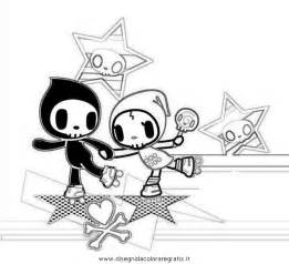 tokidoki coloring pages art coloring pages - Tokidoki Donutella Coloring Pages