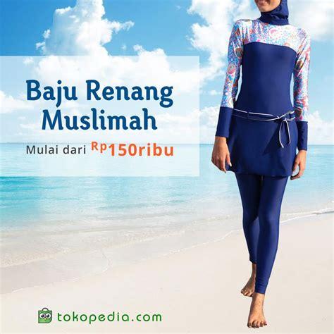 Baju Renang Muslimah Tutup Aurat buat yang hobi berenang namun ingin tetap menutup aurat jenis baju renang yang satu ini