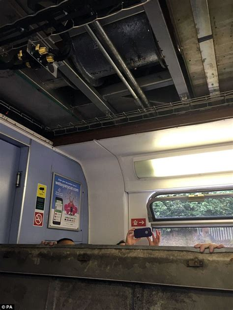 Croydon Ceilings by Southern Rail Trains Are Literally Falling Apart Right On