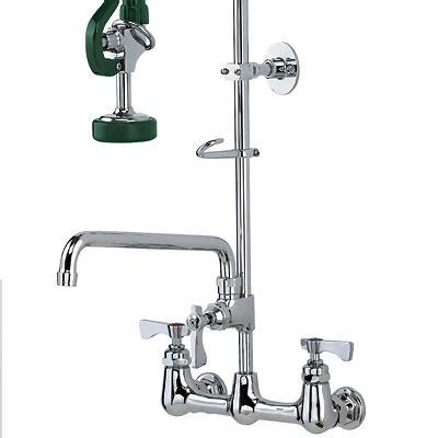 restaurant kitchen pre rinse faucets krowne 17 109wl royal pre rinse commercial faucet with add on faucet commercial kitchen
