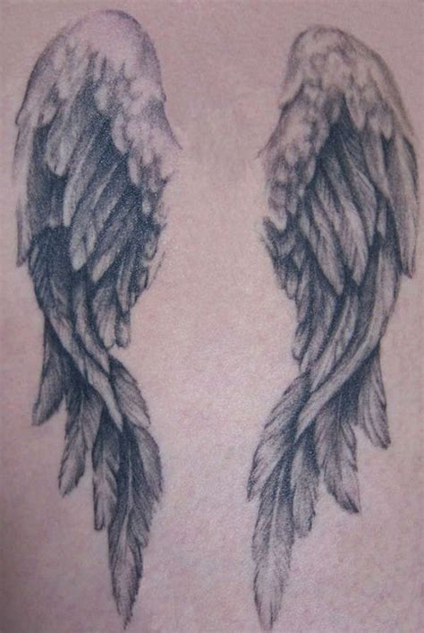 angel wing back tattoo 25 best ideas about wing tattoos on