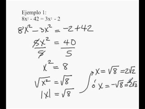 para que sirve la raiz cuadrada soluci 243 n ecuaciones cuadr 225 ticas m 233 todo ra 237 z cuadrada