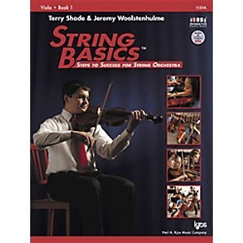 String Basics - kjos string basics book 1 for viola arts