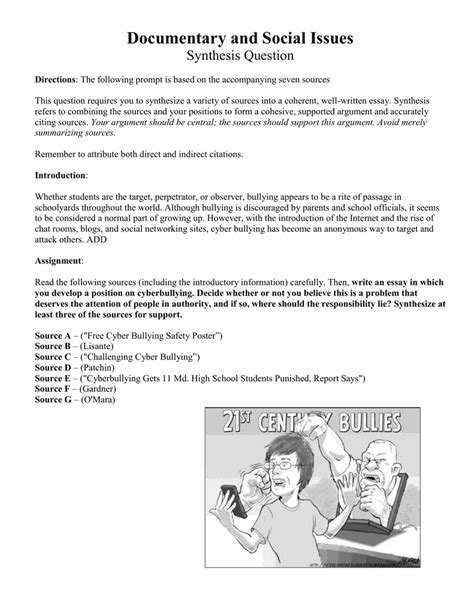 chapter 1 thesis about bullying an essay about bullying bully essays bullying essay thesis