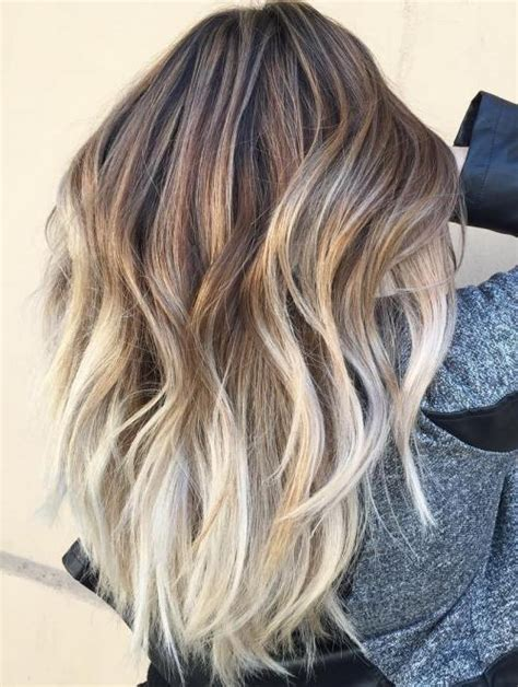 beautiful brunette hair with platinum highlights pictures hot trebd 2015 40 beautiful blonde balayage looks