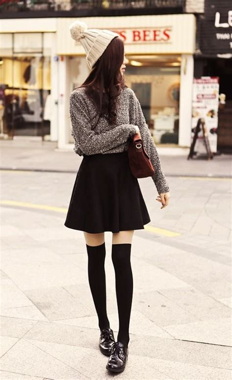 25 best ideas about knee high socks on knee