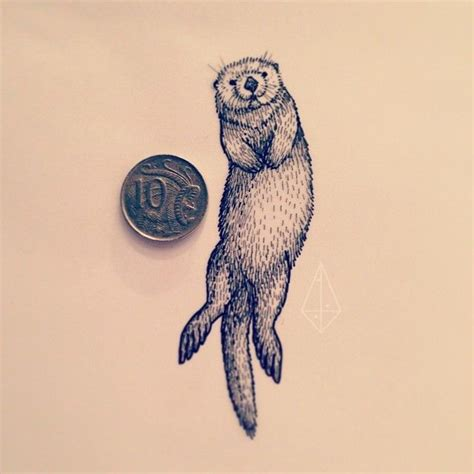 otter tattoo the 25 best ideas about otter on fox