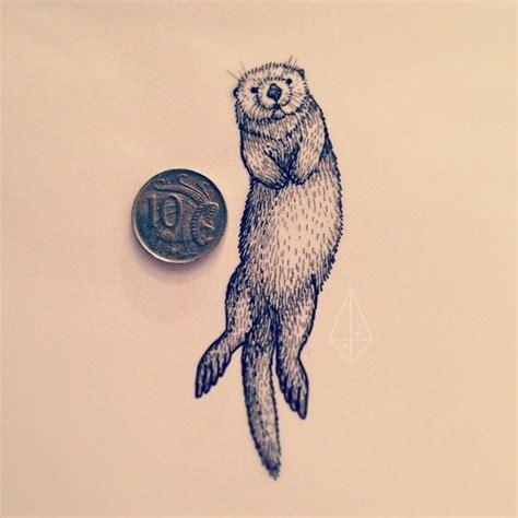 sea otter tattoo 25 best ideas about otter on fox
