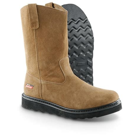 mens boots canada s dickies 174 maverick wellington boots brown 284623