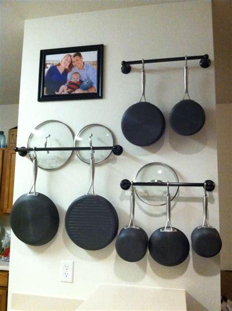 home improvements pallet pot rack a greenpoint kitchen best 25 pan rack ideas on pinterest pan organization
