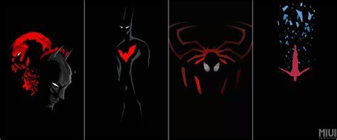 wallpaper superhero turn your phone into a superhero with this dark wallpaper