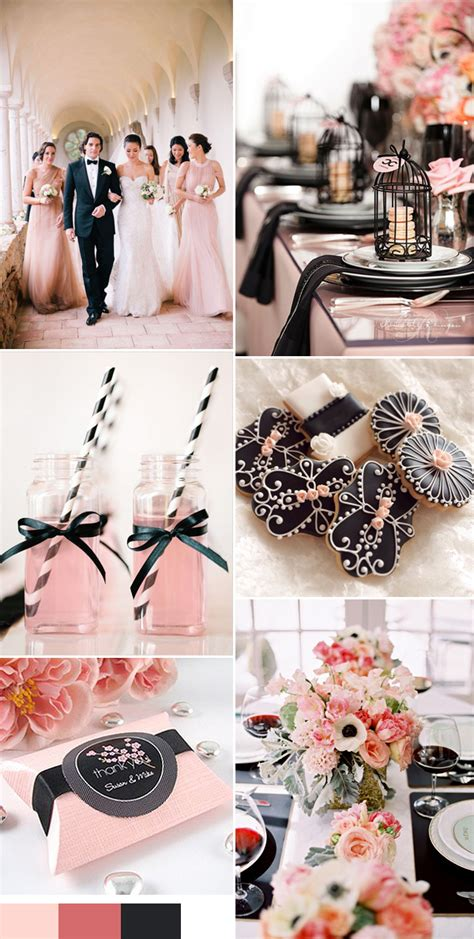 2016 wedding color trends chapter one seven pink themed wedding ideas
