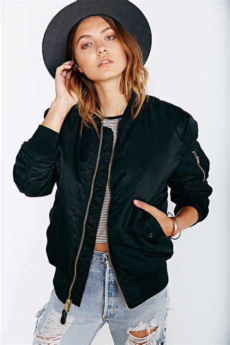 alpha industries womens bomber jacket