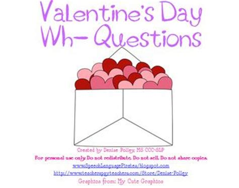 valentines day questions valentines wh questions and valentines day on