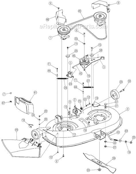 yard machine mower parts diagram yard machines 13a3762f700 parts list and diagram 2006