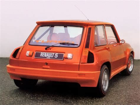 old renault renault 5 turbo prototype 1978 old concept cars