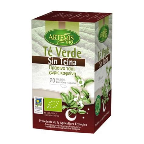 artemis caffeine free green tea 20 bags for 163 2 66 on