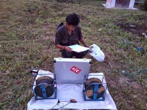 Alat Geo Electromagnetic Satellite Scan deteksi sumber air dalam tanah oleh rodiah astuti