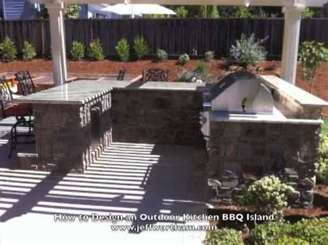Kitchen Island Plans Diy How To Design An Outdoor Kitchen Bbq Island Youtube