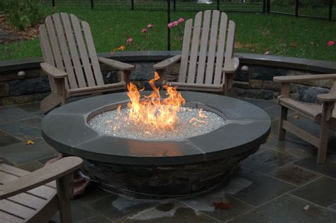 Gas Firepit Choosing The Pit For Your Backyard Outdoor Living With Archadeck Of Chicagoland