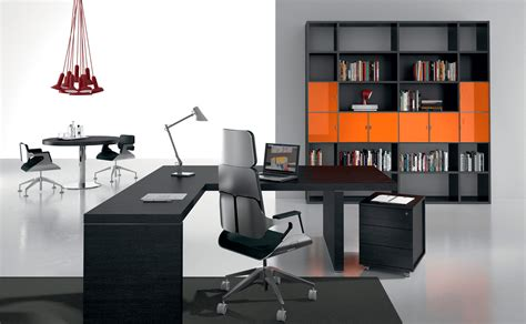 Black Executive Office Desk Black Executive Desk Office Suite Ambience Dor 233