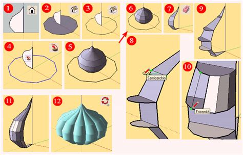 How To Make A Paper Dome Step By Step - arrigo silva how to make a dome