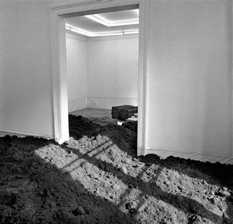 Walter De Earth Room by Earth Room 1968 Walter De Wikiart Org