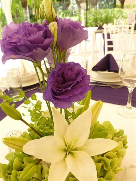 imagenes en blanco y morado centro de mesa en morado y blanco de florer 237 a el para 237 so