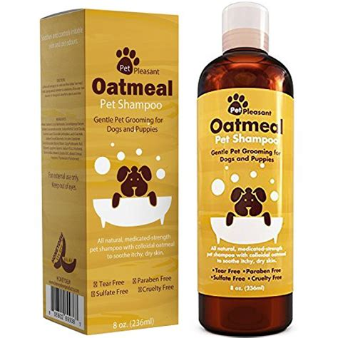 oatmeal for dogs oatmeal pet shoo for dogs puppies 8 oz honeydew