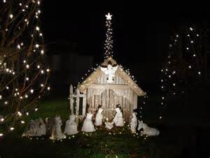 lighted outdoor nativity set nativityusa org