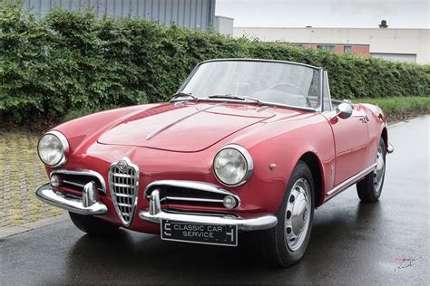 Classic Car Service by 1961 Alfa Romeo Giulietta Spider Classic Car Service