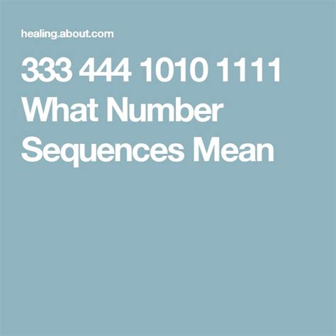 pattern sequence meaning 1000 ideas about spiritual meaning of 444 on pinterest