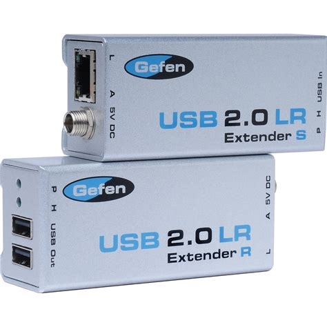 Usb Extension gefen ext usb2 0 lr cat5 usb 2 0 extender ext usb2 0 lr b h
