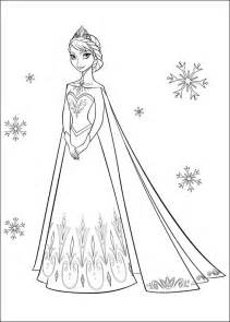 frozen coloring book frozen colotring pages