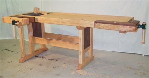 making a woodworking bench cabinet makers workbench plans how to build diy